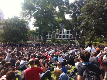 Occupy Melbourne's Largest General Assembly